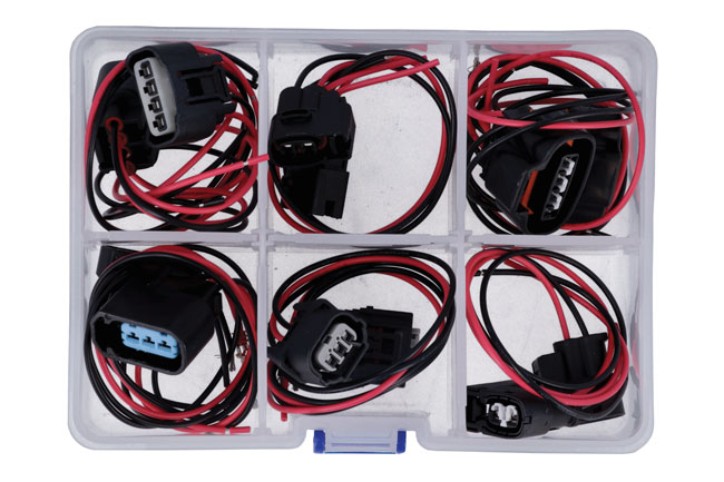 37665 Assorted Wiring Ignition Coil Harness Connector Kit 12pc
