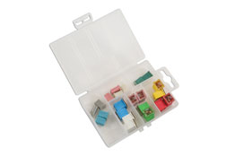 Product Image of Connect Workshop Consumables Assorted J Type Low Profile & M Type Fuses - 22 Pieces Part No. 30724