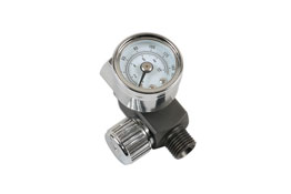 "Product Image of Connect Workshop Consumables Needle Air Regulator 1/4"" for Spray Guns Part No. 30970"