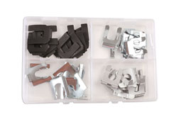 Product Image of Connect Workshop Consumables Brake Hose Clips 35 - 40mm Set - 40 Pieces Part No. 34155