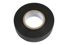 Product Image of Connect Workshop Consumables Black PVC Insulation Tape 19mm x 20m Pk 1 Part No. 36887