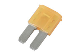 Product Image of Connect Workshop Consumables 5amp LED Micro 2 Blade Fuse Pk 25 Part No. 37178