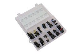 Product Image of Connect Workshop Consumables Asstd BMW / Mercedes Electrical Connector Kit 24 Pce Part No. 37410