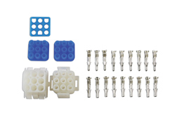 Product Image of Connect Workshop Consumables Mate-N-Lok 9 Pin Connector Kit - 23 Pieces Part No. 37515