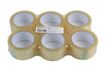 Product image of General Purpose Clear Parcel Tape 48mm x 66m - Pack 6 | Part No. 35211 from Connect