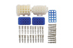 Product image of Mate-N-Lok 15 Pin Connector Kit - 35 Pieces | Part No. 37517 from Connect